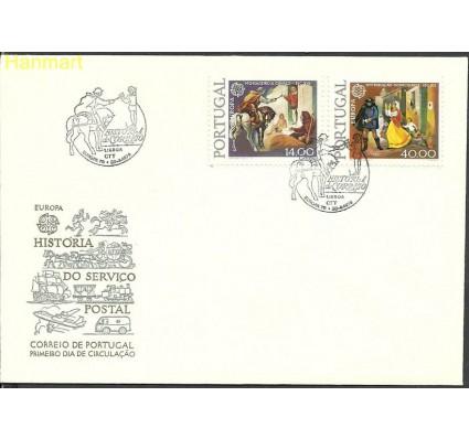 Znaczek Portugalia 1979 Mi 1441-1442x FDC