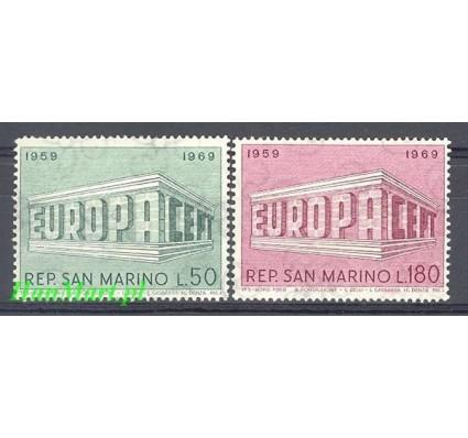 San Marino 1969 Mi 925-926 Czyste **