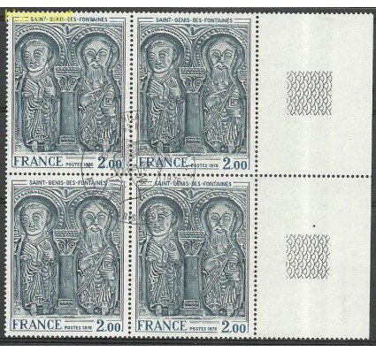 Francja 1976 Mi marvie1953 Stemplowane