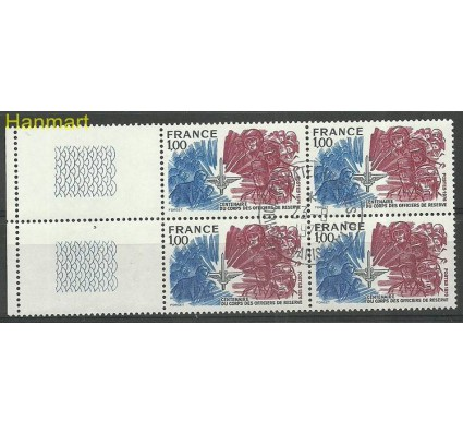 Francja 1976 Mi marvie1979 Stemplowane