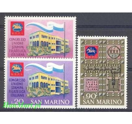 Znaczek San Marino 1971 Mi 977-979 Czyste **