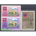 San Marino 1971 Mi 977-979 Czyste **