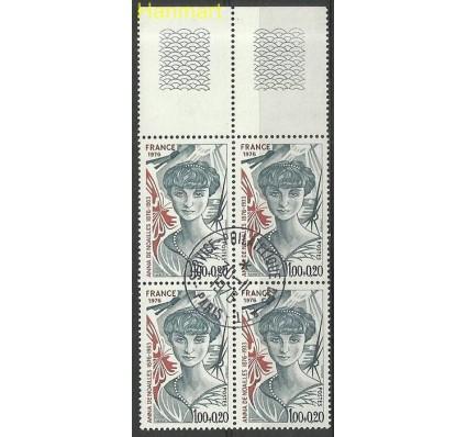 Francja 1976 Mi marvie1998 Stemplowane