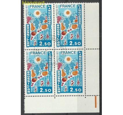 Francja 1977 Mi marvie2007 Stemplowane