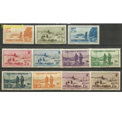 Znaczek Saint-Pierre i Miquelon 1939 Mi 199-209 Czyste **