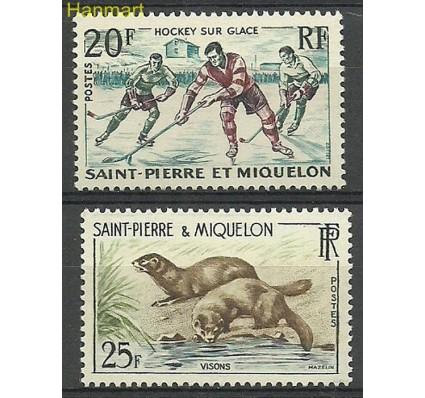 Znaczek Saint-Pierre i Miquelon 1959 Mi 390-391 Czyste **