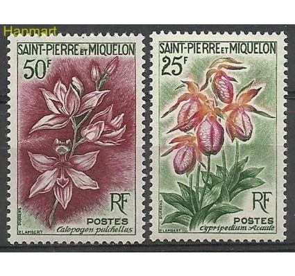 Znaczek Saint-Pierre i Miquelon 1962 Mi 394-395 Czyste **