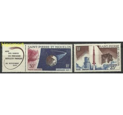 Znaczek Saint-Pierre i Miquelon 1966 Mi zf 413-414 Czyste **