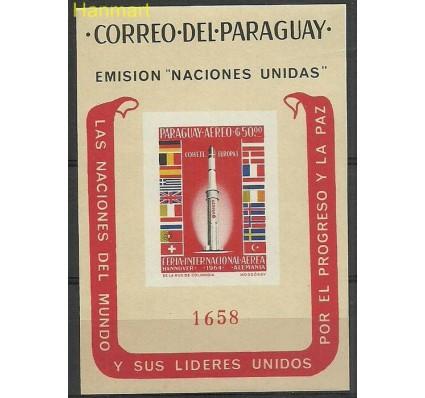 Paragwaj 1964 Mi bl59 Czyste **