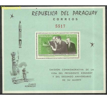 Paragwaj 1965 Mi bl71 Czyste **