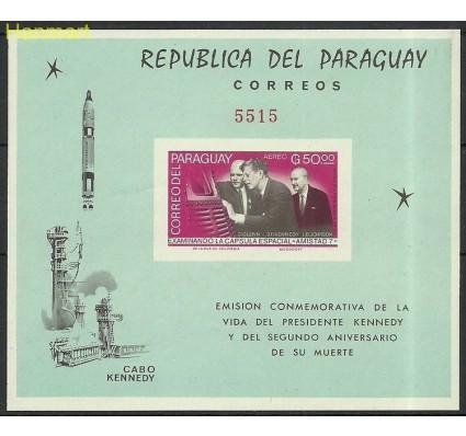 Znaczek Paragwaj 1965 Mi bl72 Czyste **