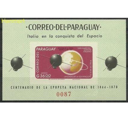 Znaczek Paragwaj 1966 Mi bl88 Czyste **