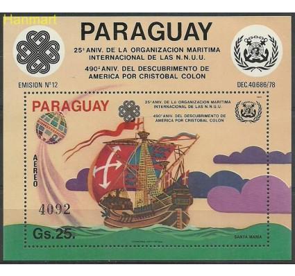 Znaczek Paragwaj 1983 Mi bl392 Czyste **