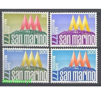 San Marino 1977 Mi 1127-1130 Czyste **