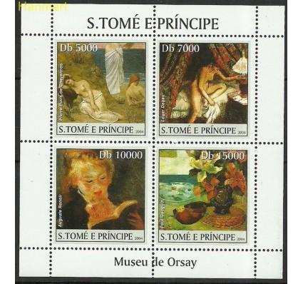Znaczek Wyspy Św. Tomasza i Książęca 2004 Mi ark2531-2534 Czyste **