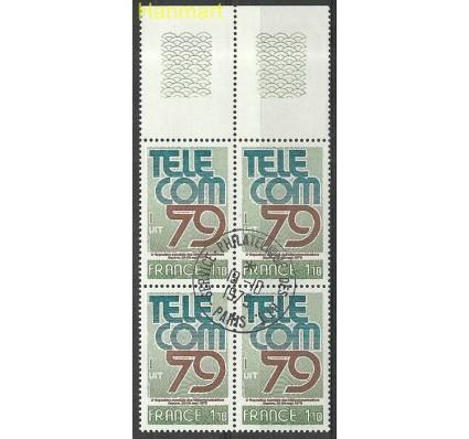 Znaczek Francja 1979 Mi marvie2168 Stemplowane