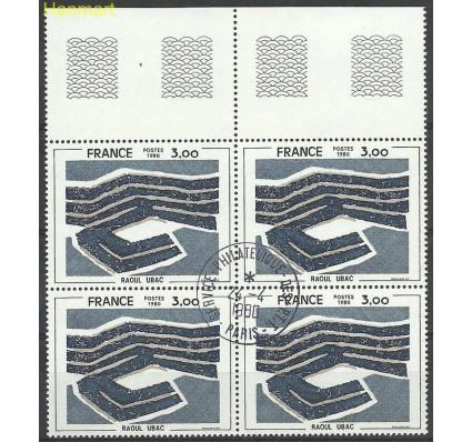 Francja 1980 Mi marvie2193 Stemplowane