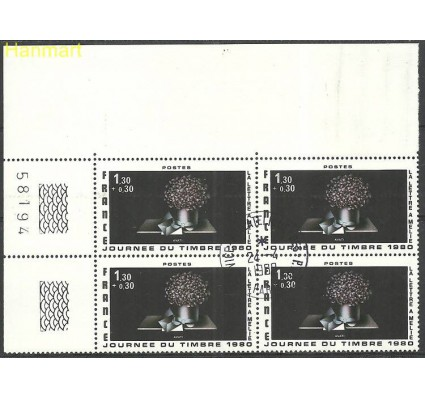 Znaczek Francja 1980 Mi marvie2197 Stemplowane