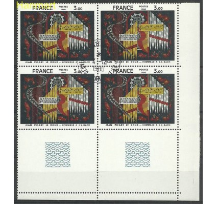 Francja 1980 Mi marvie2220 Stemplowane