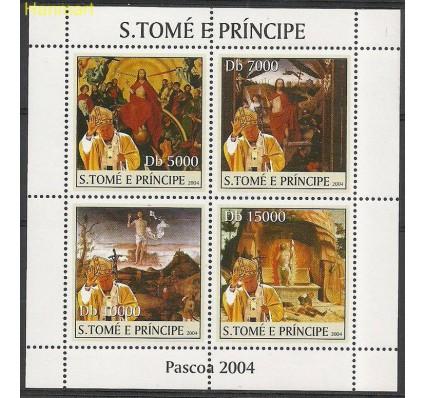 Znaczek Wyspy Św. Tomasza i Książęca 2004 Mi ark2663-2666 Czyste **
