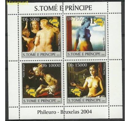 Znaczek Wyspy Św. Tomasza i Książęca 2004 Mi ark2687-2690 Czyste **