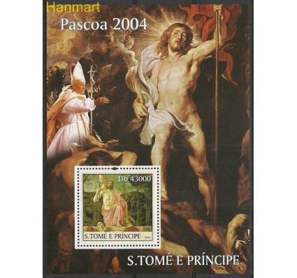 Znaczek Wyspy Św. Tomasza i Książęca 2004 Mi bl521 Czyste **