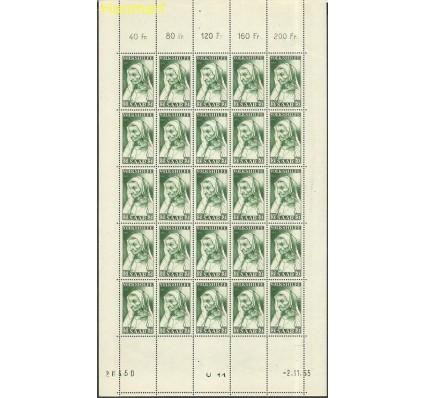 Znaczek Saara 1955 Mi ark365-367 Czyste **