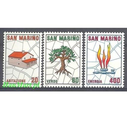 San Marino 1981 Mi 1237-1239 Czyste **