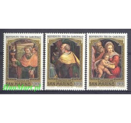 Znaczek San Marino 1981 Mi 1244-1246 Czyste **