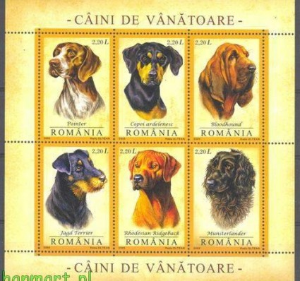 Rumunia 2005 Mi bl 361 Czyste **
