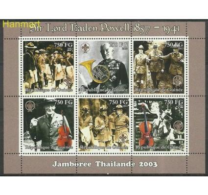 Znaczek Gwinea 2002 Mi ark3968-3973 Czyste **