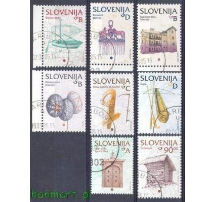 Znaczek Słowenia 2005 Mi 510-517 Stemplowane