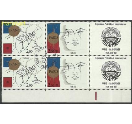 Francja 1981 Mi marvie2262-2263a Stemplowane