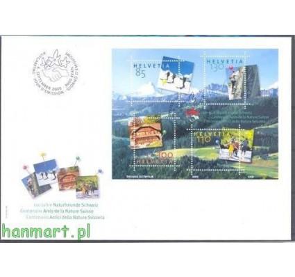 Znaczek Szwajcaria 2005 Mi bl 39 FDC