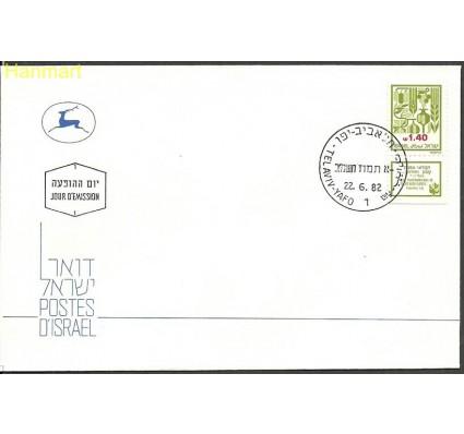 Znaczek Izrael 1982 Mi 885 FDC