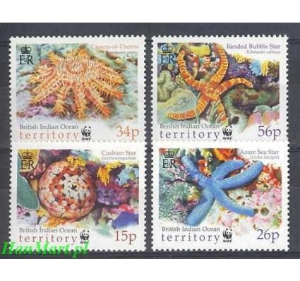 Znaczek Brytyjskie Terytorium Oceanu Indyjskiego 2001 Mi 266-269 Czyste **