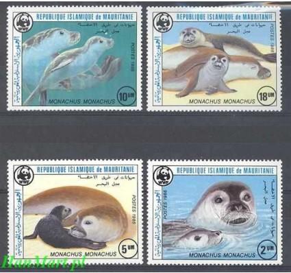 Mauretania 1986 Mi 871-874 Czyste **