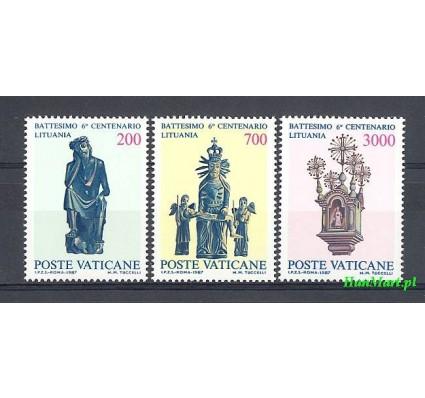 Watykan 1987 Mi 913-915 Czyste **
