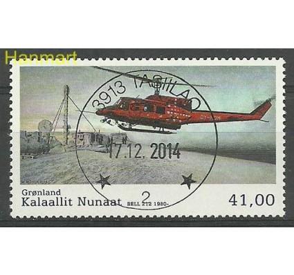 Znaczek Grenlandia 2014 Mi 677 Stemplowane
