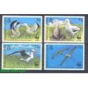 Tristan da Cunha 1999 Mi 654-657 Czyste **