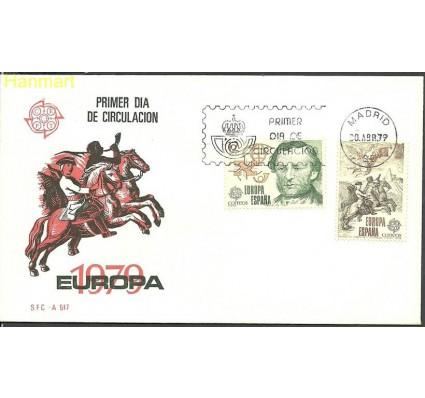 Znaczek Hiszpania 1979 Mi 2412-2413 FDC
