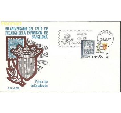 Znaczek Hiszpania 1979 Mi 2441 FDC