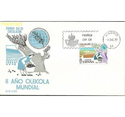 Znaczek Hiszpania 1979 Mi 2449 FDC