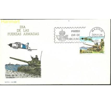 Znaczek Hiszpania 1980 Mi 2464 FDC