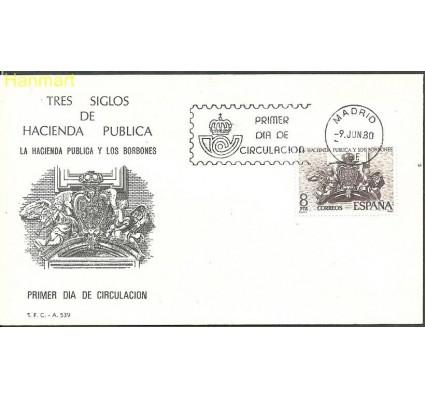 Hiszpania 1980 Mi 2465 FDC