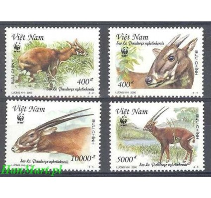 Znaczek Wietnam 2000 Mi 3063-3066 Czyste **