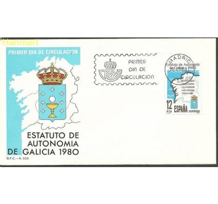 Hiszpania 1981 Mi 2492 FDC