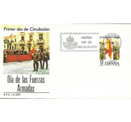 Znaczek Hiszpania 1981 Mi 2500 FDC