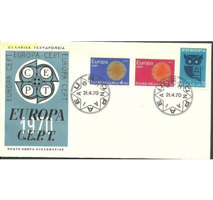 Znaczek Grecja 1970 Mi 1040-1042 FDC