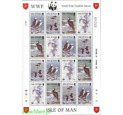 Wyspa Man 1989 Mi ark 408-411 Czyste **